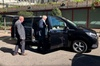 Arrival Private Transfer Bristol Airport BRS to Bristol by Luxury Van