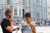 Tour di Firenze indipendente con Audiopen e pranzo facoltativo