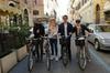 Un tour in bicicletta per le ville di Roma