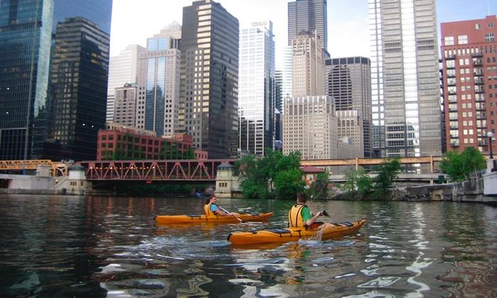 Kayak Chicago - Chicago River - Goose Island: Architectural Kayak Tour