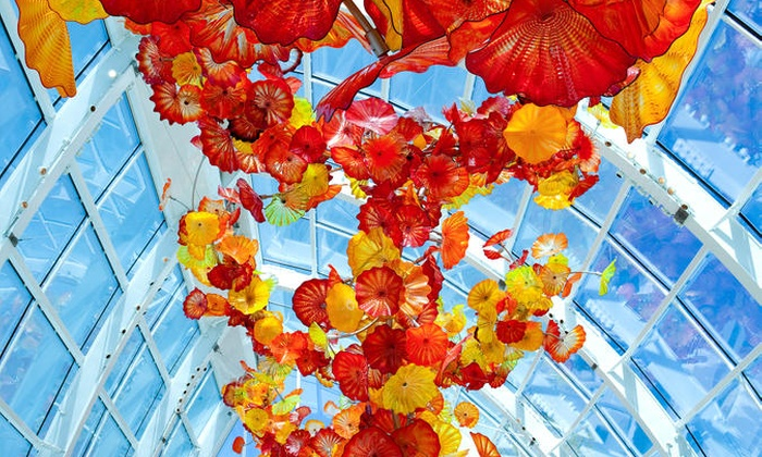 chihuly garden and glass exhibit in seattle - Glass Garden Seattle