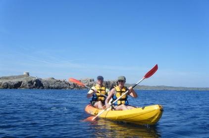 Alquiler de kayak en Menorca Oferta en Groupon