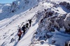 Tongariro Crossing WINTER SPECIAL MEET AT THE ADRIFT BASE