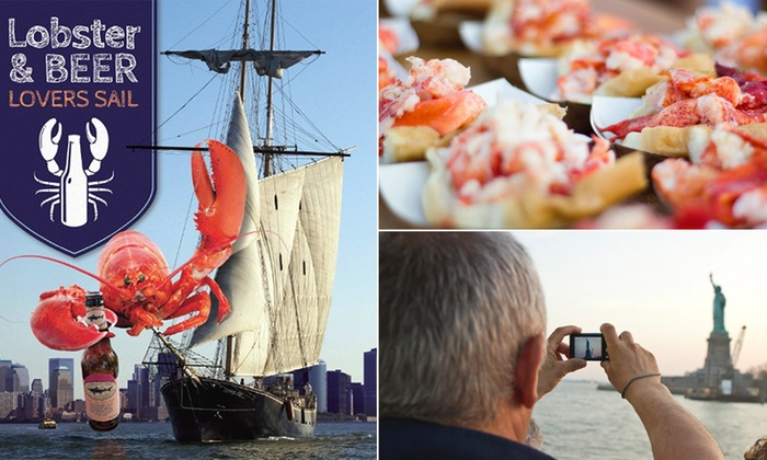 Clipper City Tall Ship - New York: Lobster & Beer Lovers Sail at Clipper City Tall Ship