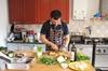 Lezione privata di cucina in casa di uno chef fiorentino