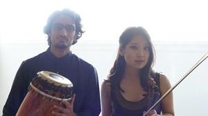 Peninsula Jewish Community Center: Rohan & Grace, Percussion & Violin at Peninsula Jewish Community Center