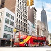 New York City Hop-On Hop-Off Bus Tour with optional Statue of Liber...