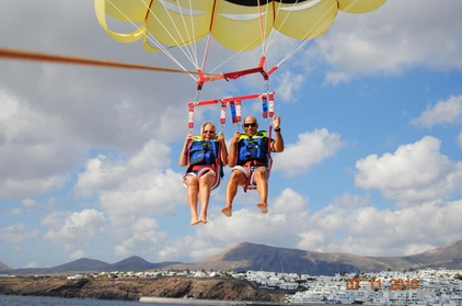 Paravelismo en Lanzarote Oferta en Groupon