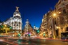 Recorrido turístico nocturno por Madrid con espectáculo de flamenco...
