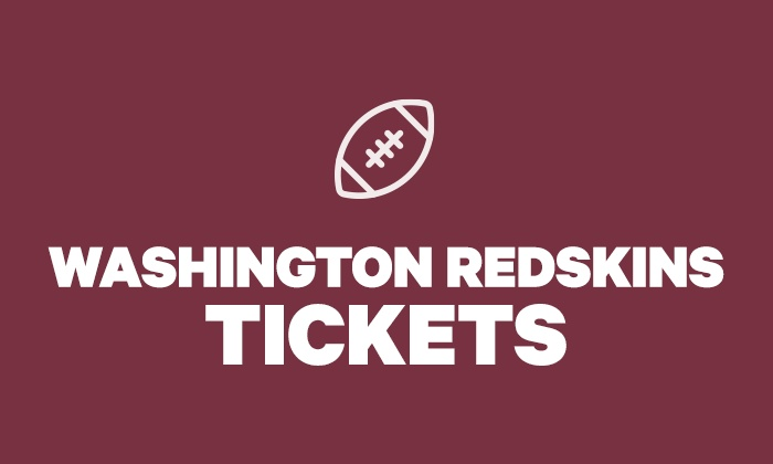 timeless design 44d20 90ed5 Washington Redskins Tickets