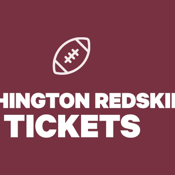 picture relating to Redskins Printable Schedule named Washington Redskins Tickets