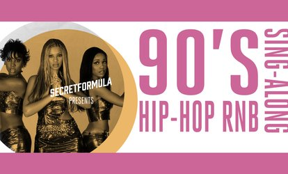 image for '90s Hip Hop & R&B Sing-Along - Tuesday, Apr. 24, 2018 / 9:00pm