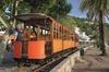 Recorrido de día completo en tren, tranvía y barco en Mallorca