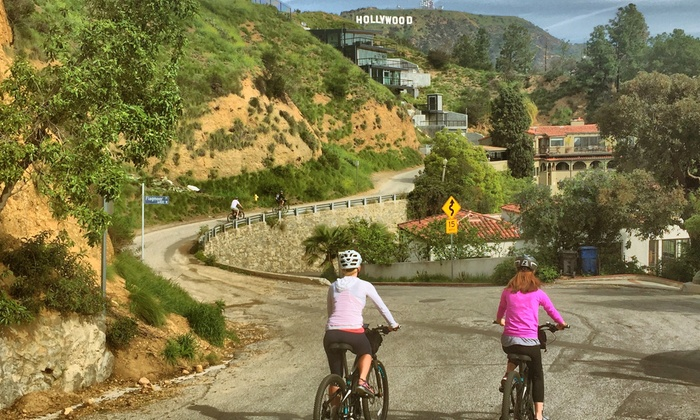 Electric Bike Tour of Hollywood Sign - Hollywood Studio District: Electric Bike Tour of Hollywood Sign - Any Friday-Monday at 10:00am or 2:00pm Through May 31, 2018 (Reserve in Advance)