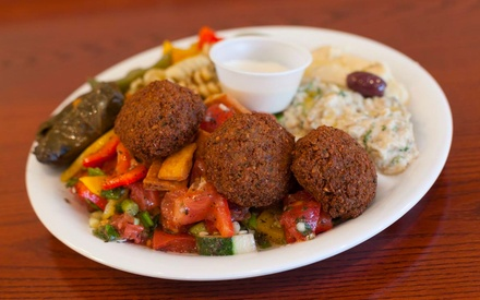 $10 for $20 worth of Delicious Mediterranean food