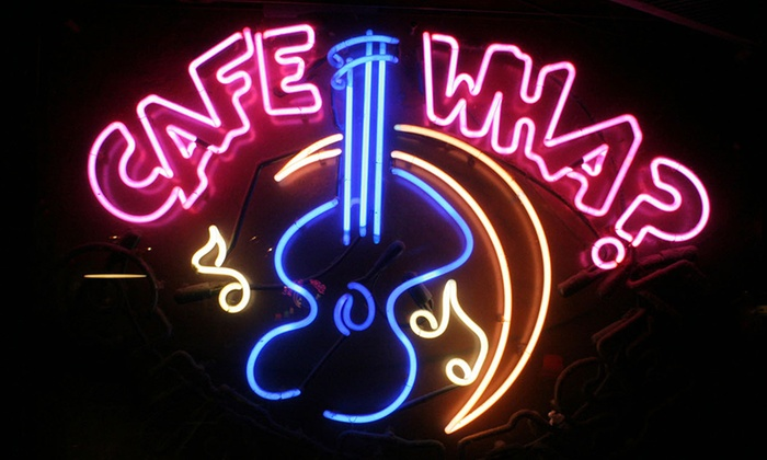 Cafe Wha? - Downtown Manhattan: The Cafe Wha? House Band - Live! at Cafe Wha?