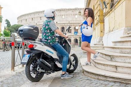 Noleggio Scooter a Roma con Chilometraggio Illimitato
