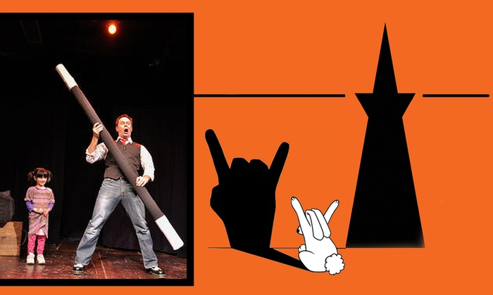 Eddy St Theatreplex - The EXIT Theatre - Tenderloin: Family Magician Brian Scott at Eddy St Theatreplex - The EXIT Theatre