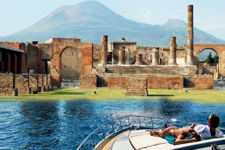 Promozione Tour & Giri Turistici Groupon.it Esperienza di Pompei e del Vesuvio in barca con partenza da Sorrento