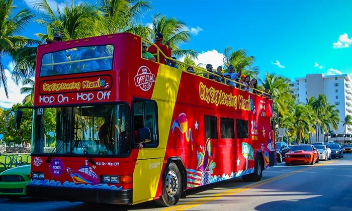 CitySightseeing Miami  - Main Station: City Sightseeing Hop-On, Hop-Off Bus Tour: Miami