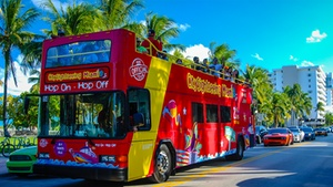City Sightseeing Bus: City Sightseeing Hop-On, Hop-Off Bus Tour: South Beach Road at City Sightseeing Bus