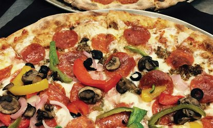 image for $10 for $20 Worth of Wood Fired Pizza & More