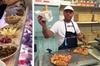 Tour privato del cibo di strada di Bari in risciò