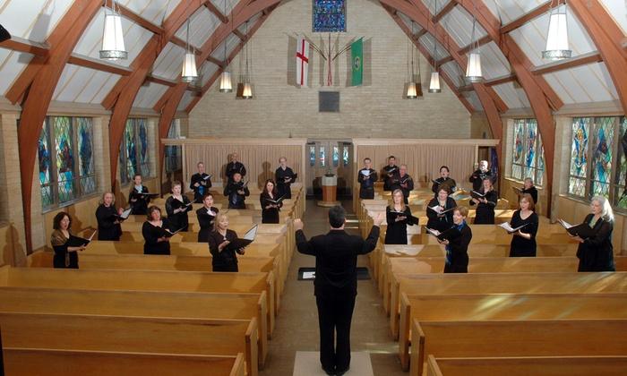 Church of the Holy Cross - North Redmond: Cascadian Chorale: Magnificat at Church of the Holy Cross