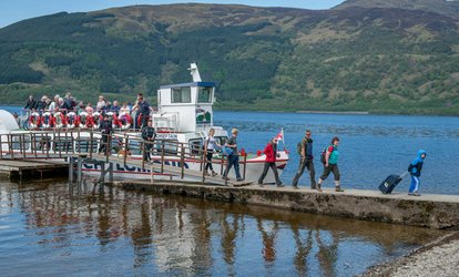 Ben Lomond Hike with Return Cruise on Loch Lomond from Tarbet