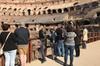 Tour per piccoli gruppi del Colosseo con accesso Fast Track