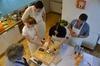 Autentica lezione pratica di cucina ad Assisi