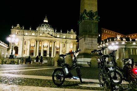 Coupon Tour & Giri Turistici Groupon.it Tour notturno di Roma in e-bike con degustazione enogastronomica