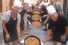 Clase de cocina por la tarde de paella valenciana