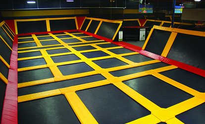image for $11 For 2 Hours Of Jumping For 1 Person (Reg. $22)