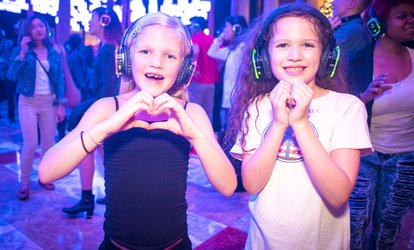 "image for ""Kid's Silent Disco Dance Party!"" - Sunday, Jun 3, 2018 / 12:00pm-4:00pm"