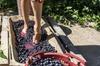 Pigiatura dell'uva presso casolare toscano con partenza da Firenze