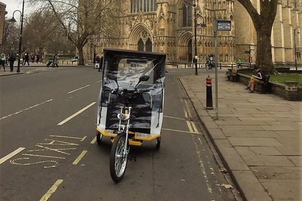 York Carriage Awaits Evening Pedicabs Tours of Historic York