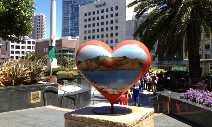 Union Square - Downtown: SF Heart Race at Union Square