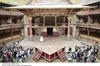 Shakespeare's Globe Theatre Tour and Exhibition with Optional After...