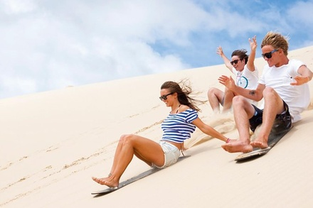Port Stephens Day Tour with Dolphin Watching, Sandboarding & Australian Wildlife