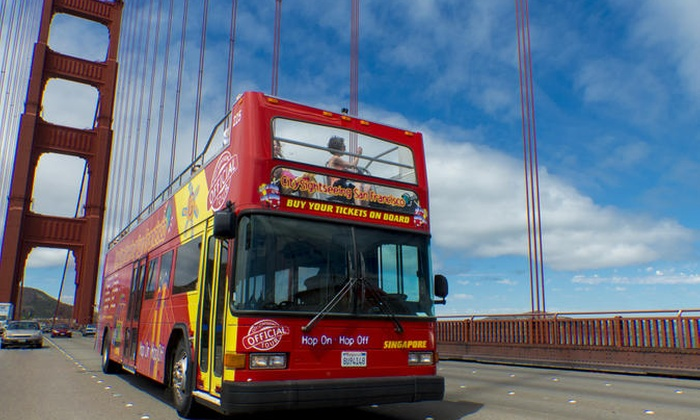 City Sightseeing Ltd - USA and Middle East - San Francisco: City Sightseeing San Francisco Hop-On Hop-Off Tour