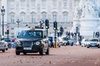 West tour of London by the traditional Electric Black Taxi (Electoc...