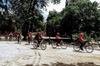 """Excursión en bicicleta por Madrid: Parque del Retiro y centro, """"MIS..."""