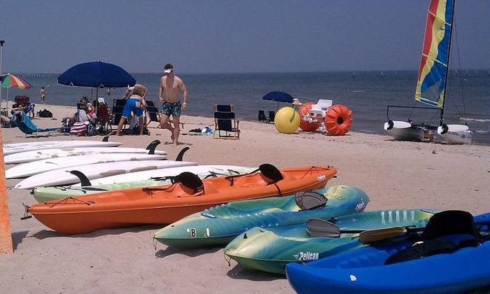 Virginia Beach 1 Hour Double Kayak Rentals