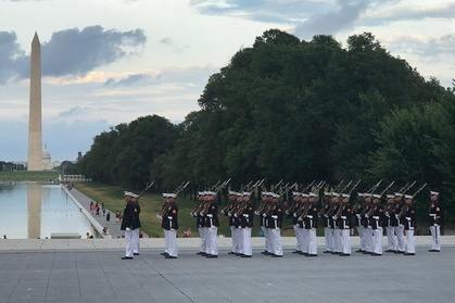 Private Marine Corps Tour of Washington DC by Luxury Car