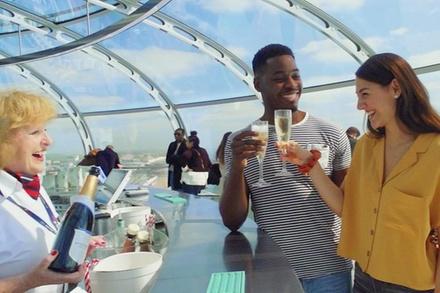 British Airways i360 Viewing Tower Flight + Nyetimber sparkling wine