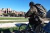 Monumenti romani e panorami in bicicletta elettrica