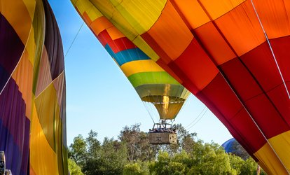 Morning Hot Air Balloon <strong>Rides</strong> - Any Available Date Four Months From Purchase Date (Reserve in Advance)