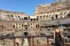 Arena del Colosseo con il Foro Romano
