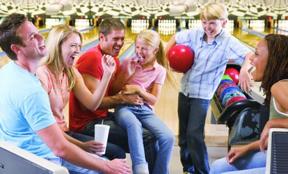 image for $30 For 2 Hours Of <strong>Bowling</strong> For Up To 6 People Including Shoes (Reg
